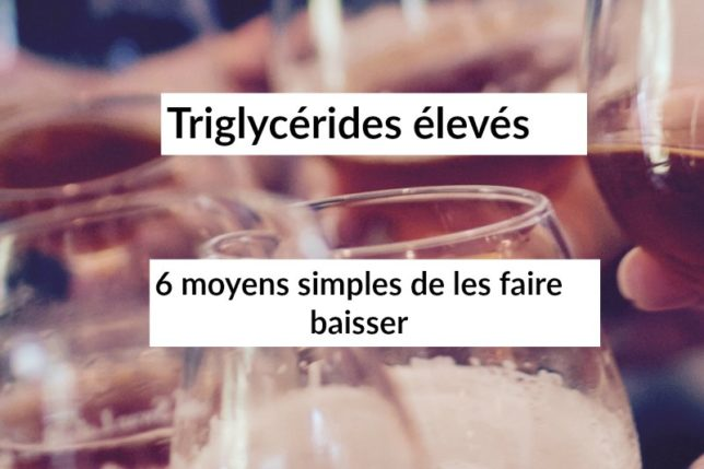 regime contre les triglycerides