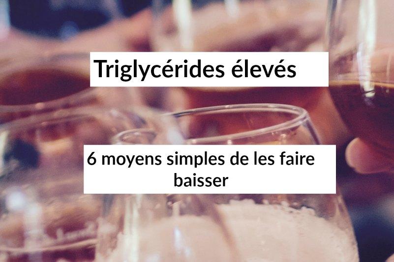 menu regime triglycerides
