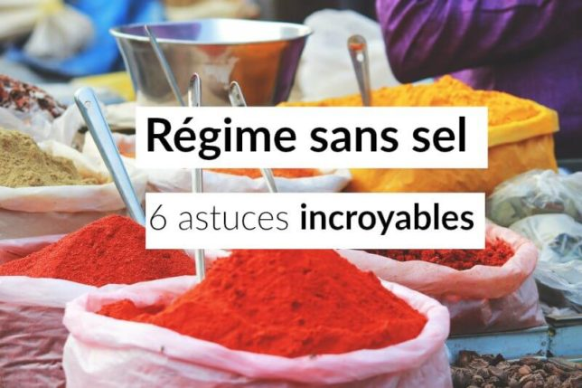 regime sans sel