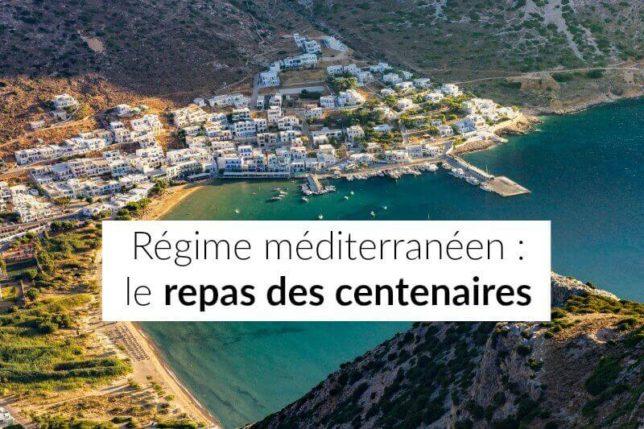 regime mediterraneen